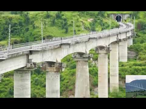 Indian Railway Connecting Kashmir with Kanyakumari via train - Train to Kashmir 2016