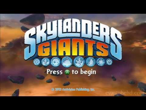 Let's Play SKYLANDERS GIANTS - Chapter 1 Time of the Giants with EvanTubeHD