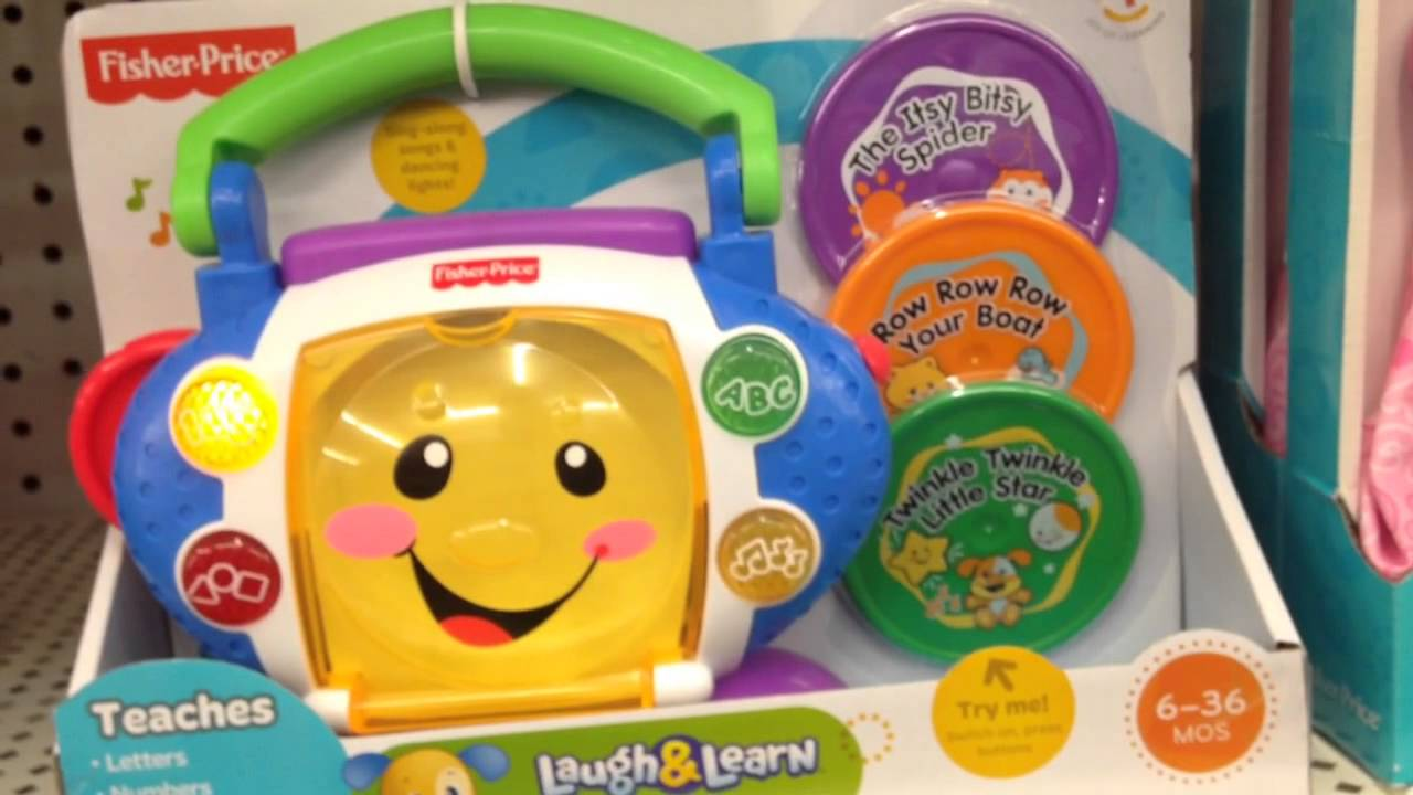 Sing With Me Cd Player Laugh Learn Toy Review Demo