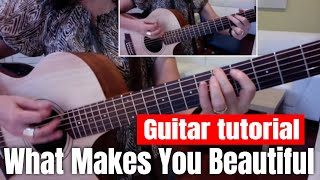 What Makes You Beautiful (Advanced) Guitar Tutorial