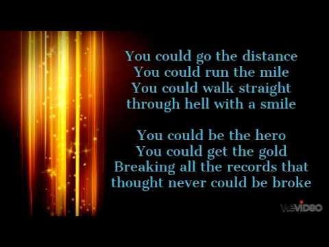 Hall of fame the script lyrics youtube