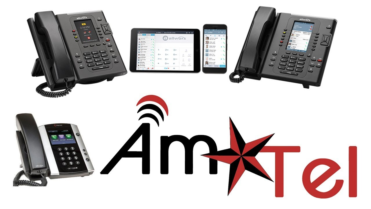Business Phone Systems Houston TX | Amtel IP Phone Systems
