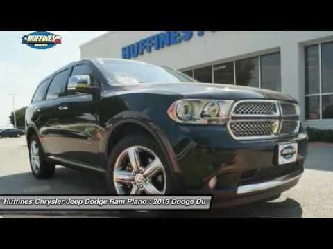 2013 Dodge Durango Plano, Frisco, Allen, Mckinney TX D6250. Huffines  Chrysler Jeep ...