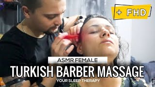 ASMR SLEEP MASSAGE * FEMALE MASSAGE * HEALTH AND BEAUTY MASSAGE | ASMR HEAD MASSAGE, EAR MASSAGE