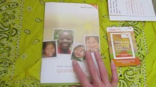 WE ARE SPONSORING A CHILD!!
