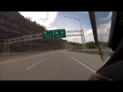 Riding US23 North on Honda St1300 towards Jenkins Ky