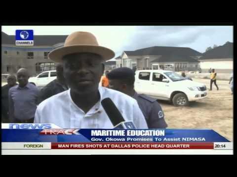 Gov Okowa Promises To Assist NIMASA Boost Maritime Education  -- 13/06/15