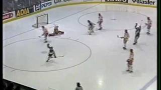 HC Bienne - Fribourg Gottéron (1990-91)