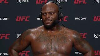 UFC Vegas 6: Derrick Lewis Interview after KO win