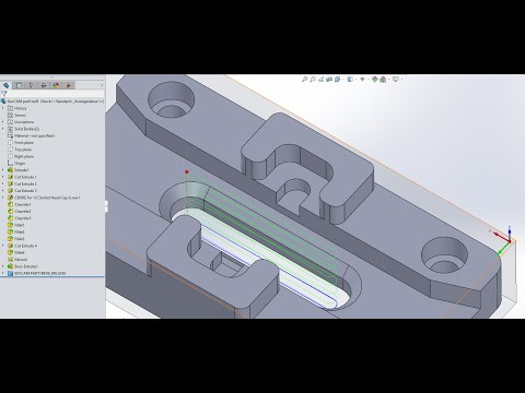 KevCAM Night School - SolidCAM - Integration/Associativity