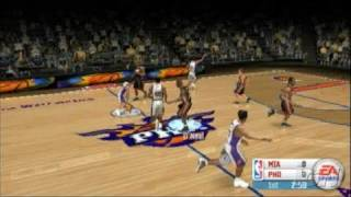 NBA Live 06 Sony PSP Gameplay - The opening tip-off