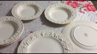 A Vintage Thrift Haul - bone China, fine China, restaurant ware & pottery #162