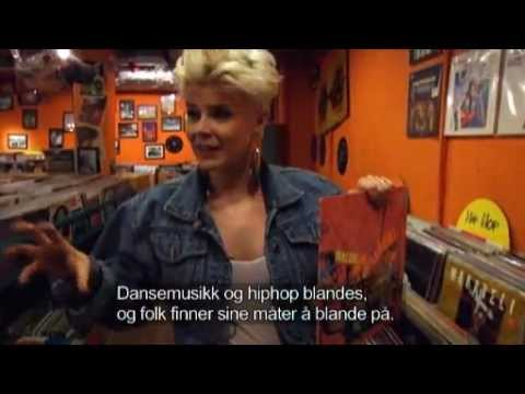 Robyn interview - record shopping (Swedish)