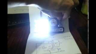 1.2V AA Joule Thief up to 12V LED