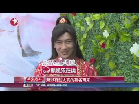 """独家:陈浩民Benny Chan称太太是""""怀孕专业户"""" 女儿探班玩""""撒娇"""""""