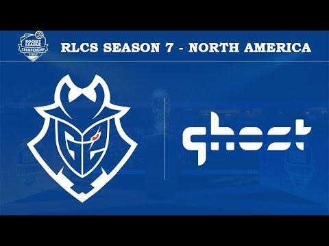G2 Esports vs Ghost | RLCS Season 7 - North America [20th April 2019]