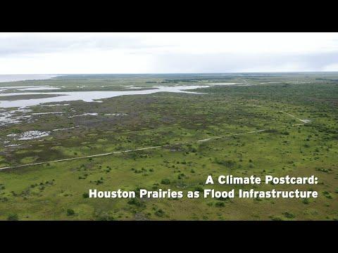A Climate Postcard: Houston Prairies as Flood Infrastructure