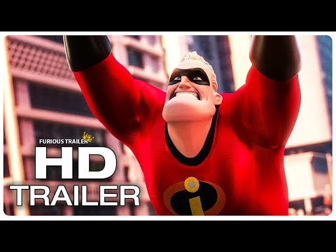 INCREDIBLES 2 Final Clips + Trailers (NEW 2018) Superhero Movie HD