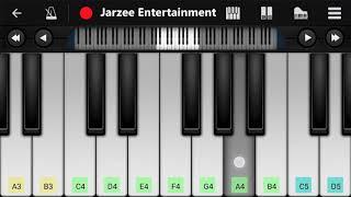 Doraemon Theme Hindi Version - Easy Mobile Piano Tutorial | Jarzee Entertainment