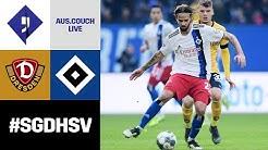 RELIVE: Dynamo Dresden vs. HSV | Auswärtscouch | 31. Spieltag