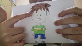 Drawing Boy Cute Easy