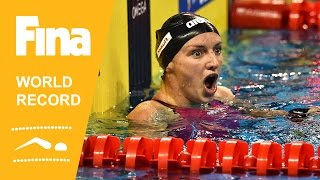 Katinka Hosszú | World Record 100m Backstroke | 2014 FINA World Swimming Championships Doha