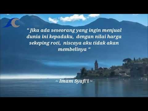 Kata Kata Mutiara Imam Syafii