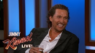 Matthew McConaughey Responds to Mike Myers Threesome Rumors