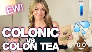 Celebrity Colon Cleanse Trend? Colonic vs. Colon Tea