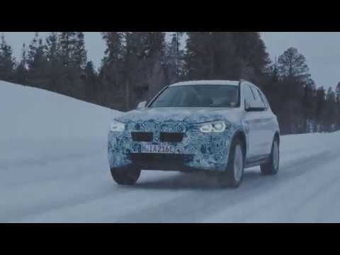 Ефективното задвижване на напълно електрическото BMW iX3