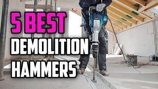 ☑️ Demolition Hammer: 5 Best Demolition Hammers In 2018 | Dotmart