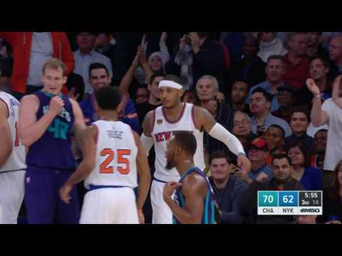 Carmelo Anthony Drops 35 Points In Overtime Victory l 11.25.16