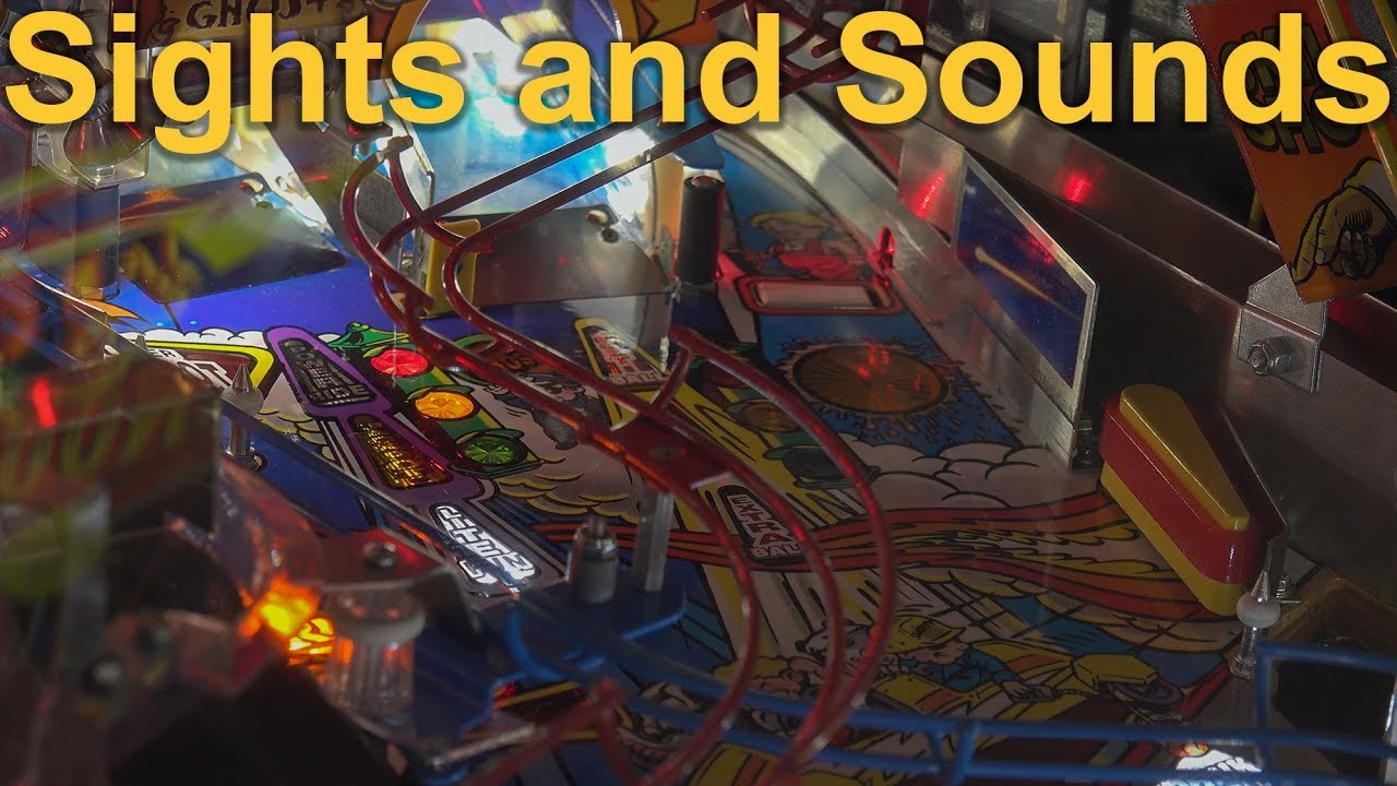 Download Roller Coaster Tycoon Pinball ~Sights, Sounds, & Gameplay (4k) LED lit Stern Pinball 2002
