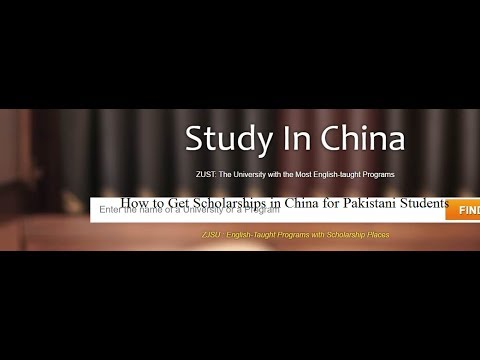 How to Get Scholarships for Pakistani Students in China