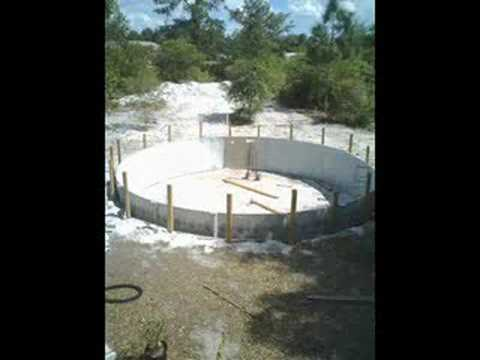 How to bury an above ground pool youtube - How to build an above ground swimming pool ...