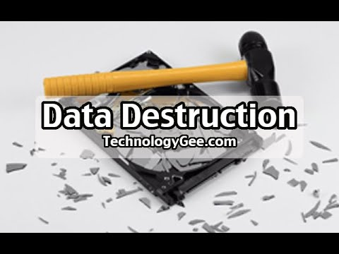 Data Destruction & Disposal Methods | CompTIA A+ 220-1002 | 2.9