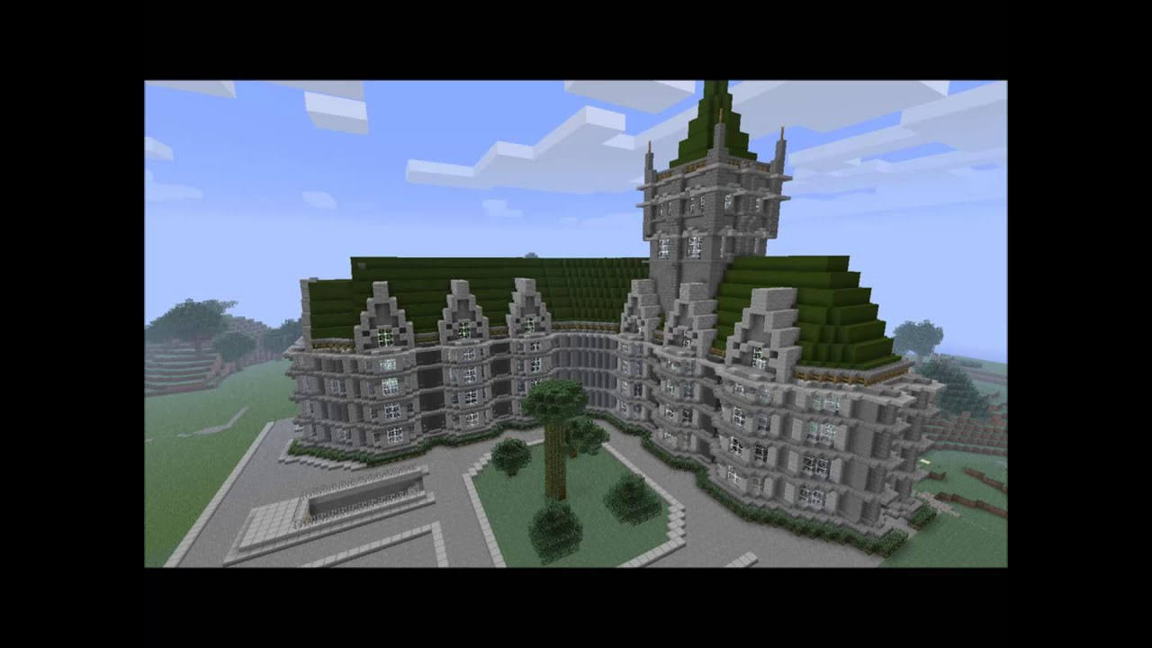 Les 5 plus belle maison de minecraft youtube for Belle maison minecraft