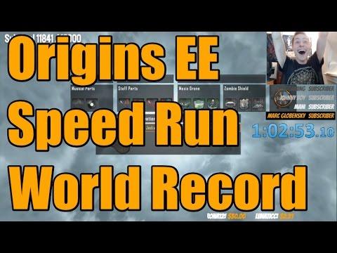 EX WORLD RECORD: 1:02:53 | Origins Easter Egg Speedrun