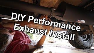 DIY Manta Performance Exhaust Install