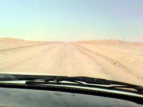 Graded Road at Baja oil & gas Field in Oman  10-10-2008