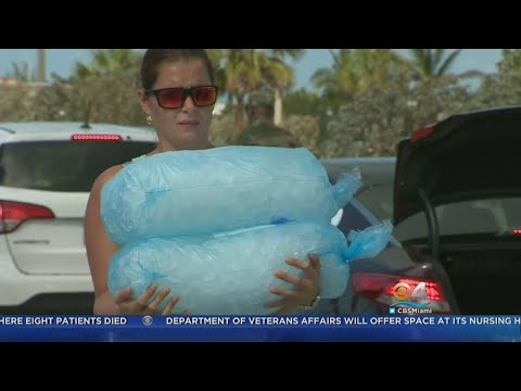 Food, Water Given To Key West Storm Survivors
