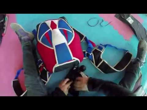 Packing a Parachute in Super Speed
