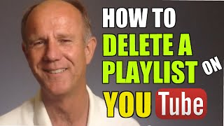 How To Delete A Playlist On YouTube - Tutorial