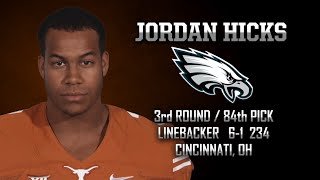 Highlights of Texas LB Jordan Hicks [May 1, 2015]