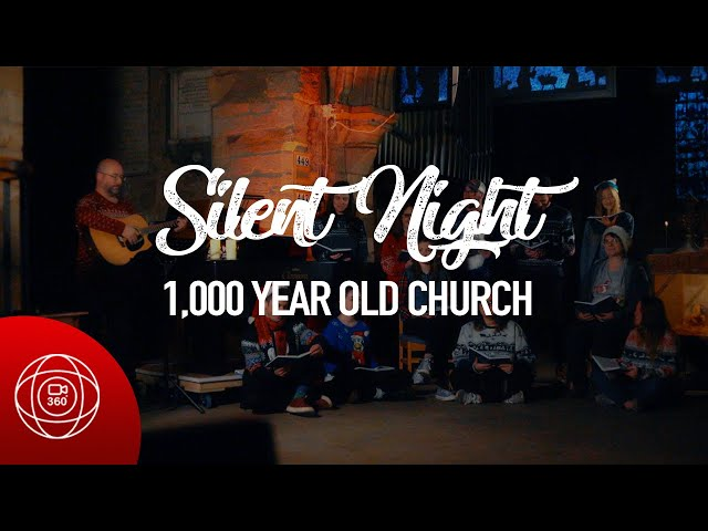Silent Night in a 1,000 YEAR OLD CHURCH - 360° Video