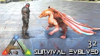 ark survival evolved dragon taming baby breeding e32 modded ark pugnacia dinos gameplay