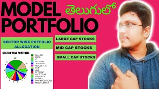 MODEL PORTFOLIO 2020 | Sector Wise Allocation | Large , Mid, Small Cap Sector Wise Stocks | తెలుగులో