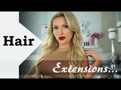 HAIR EXTENSIONS | Everything about my hair!