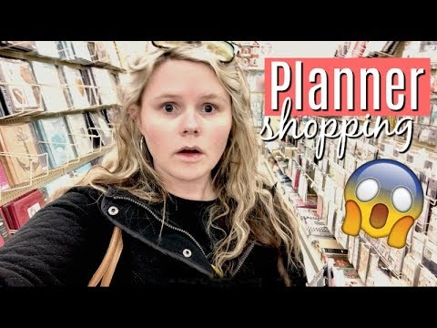 SHOP WITH ME AT HOBBY LOBBY | 2018 PLANNER HAUL