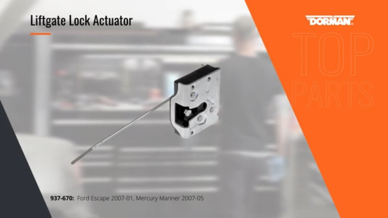 Highlighted Part: Liftgate Lock Actuator for Select Ford Escape & Mercury  Models Mariner Models
